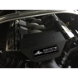 Aluminum Engine Cover Plate [S8]- Tribal Coyote Performance Pack (2018 Mustang)
